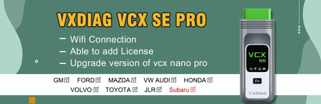 Vxdiag Vcx Se Pro