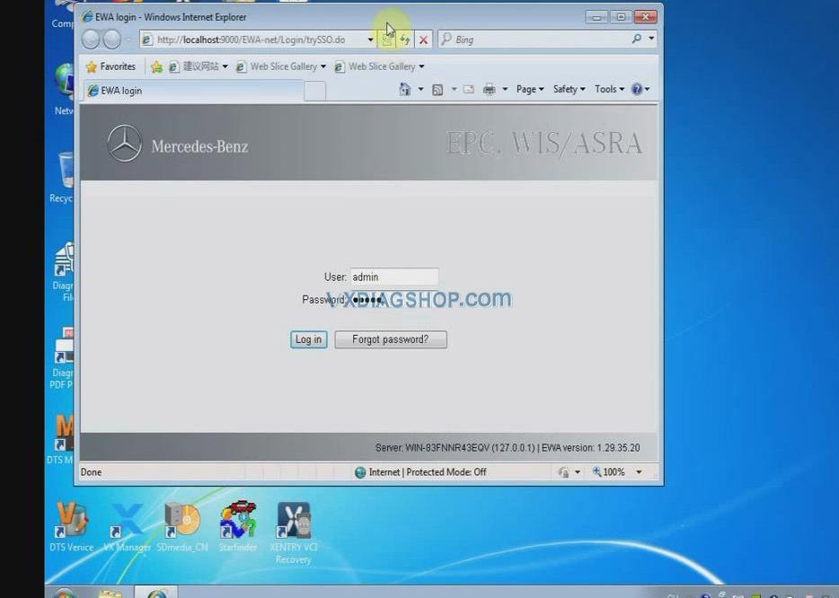 Vxdiag Benz C6 Xentry Epc Wis Software Activation 01