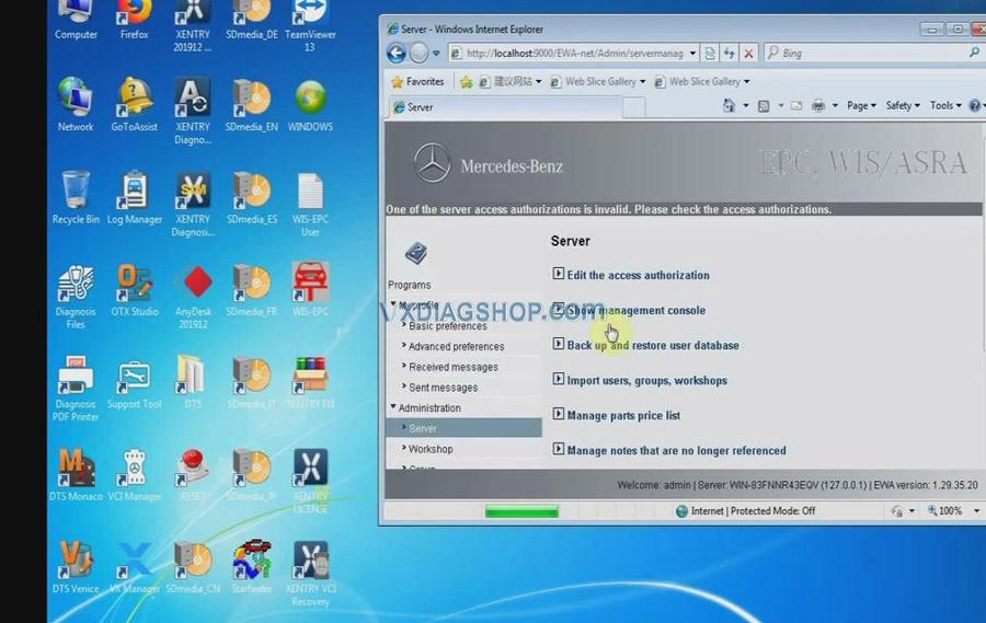 Vxdiag Benz C6 Xentry Epc Wis Software Activation 02
