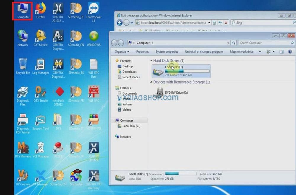 Vxdiag Benz C6 Xentry Epc Wis Software Activation 04