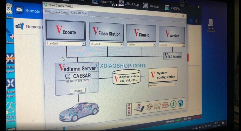 Vxdiag Vcx Se For Benz Donet Customer Feedback 03