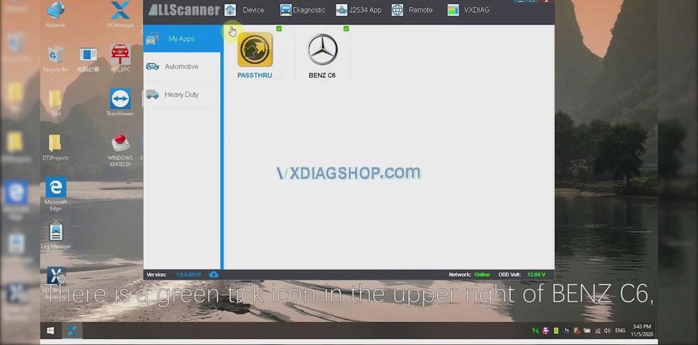 Vxdiag Vcx Se For Benz Donet Remote Online Programming 05