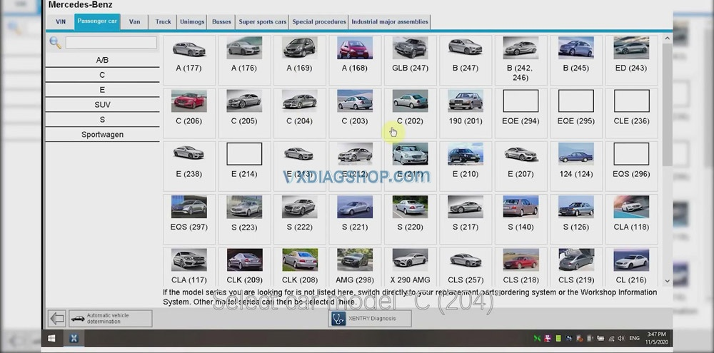Vxdiag Vcx Se For Benz Donet Remote Online Programming 07