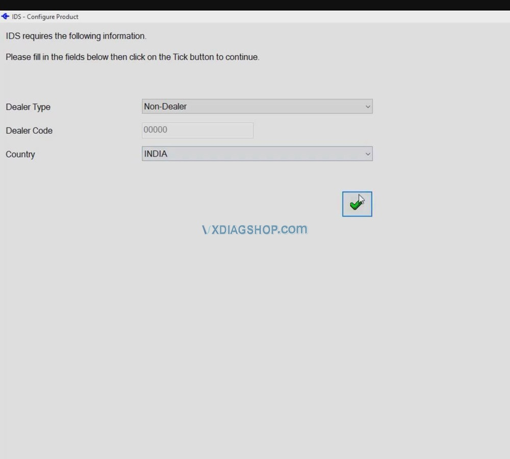 Vxdiag Ford Ids V120 Installation And Activation 12