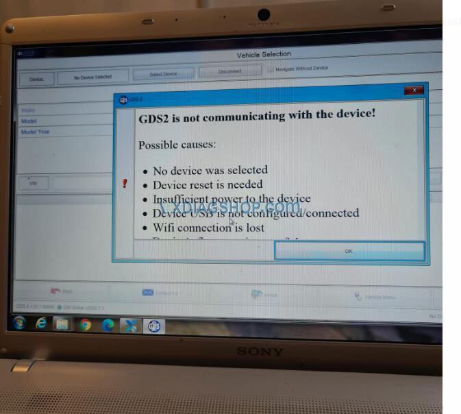 Vxdiag Gm No Device Detected 3