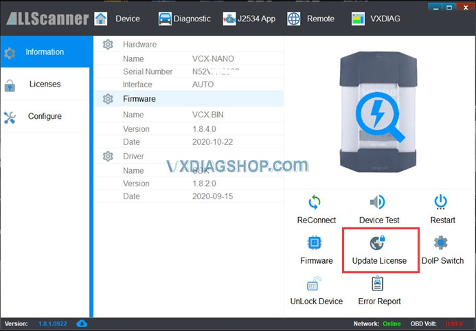Vxdiag Need To Renew License 3