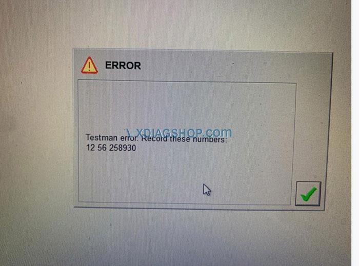 Vxdiag Vcx Nano Ford Testman Error Solution 01