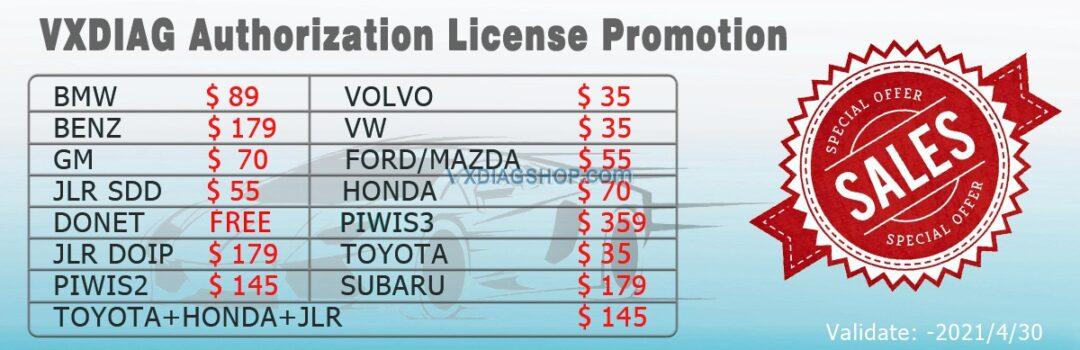 Vxdiag License