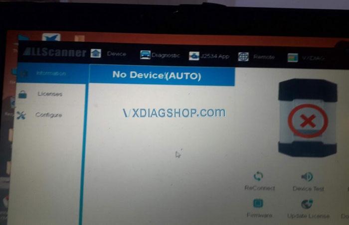 Vxdiag Benz C6 No Internet 4