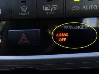 Repair Toyota Airbag Off Warning Light Error 1