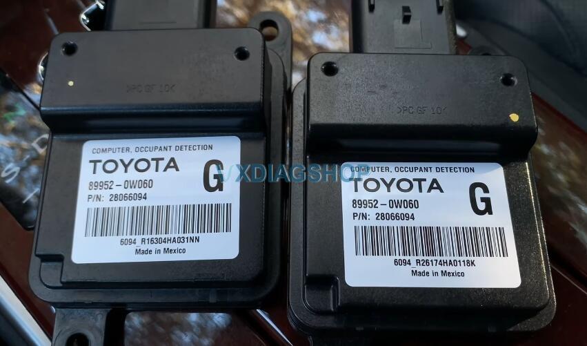 Repair Toyota Airbag Off Warning Light Error 6