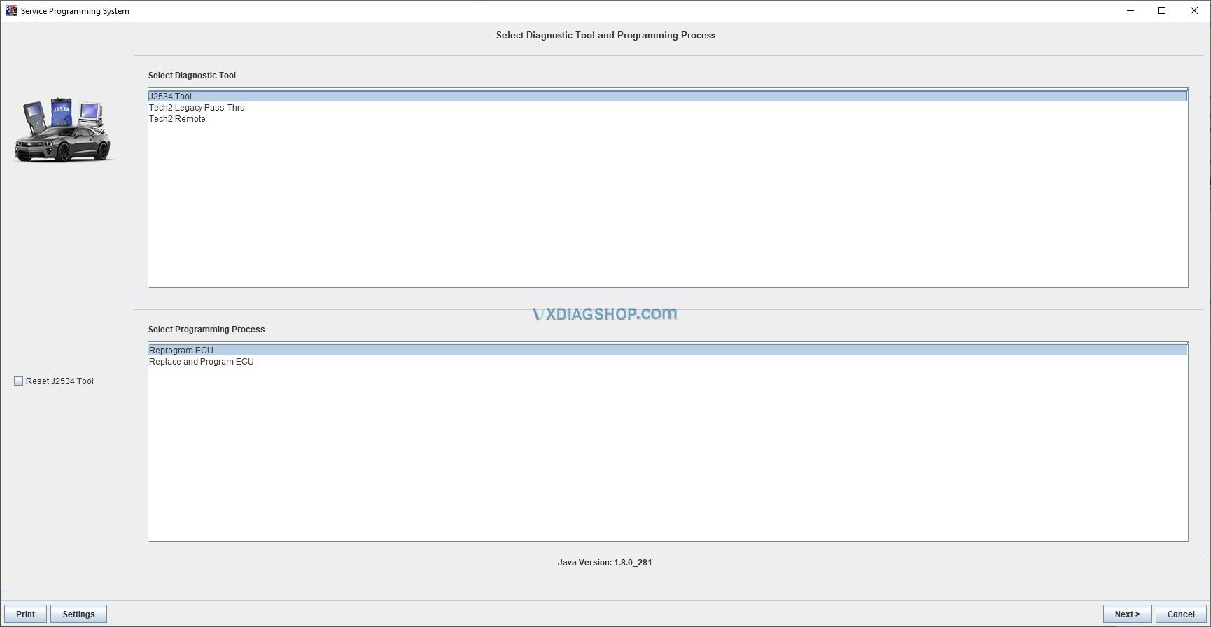 Vxdiag Vcx Nano Gm Volt Sps 5