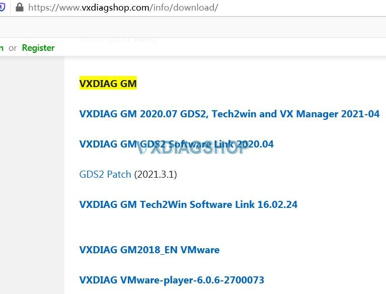 Vxdiag Gm 01