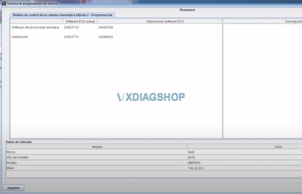 Vxdiag Opel Ecu Program 12