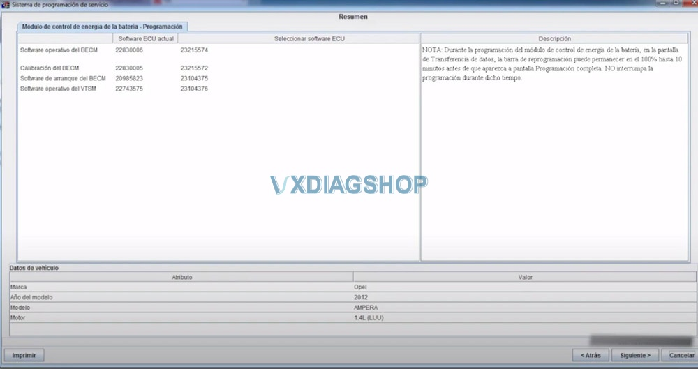 Vxdiag Opel Ecu Program 17
