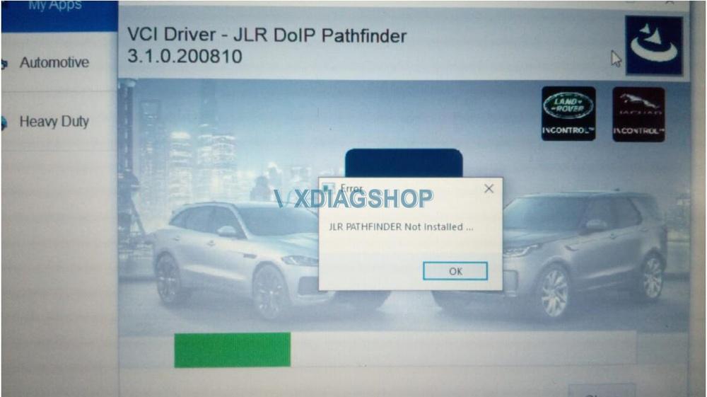 Jlr Pathfinder Not Installed 2