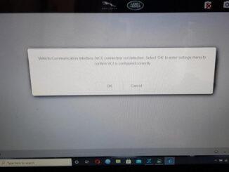 Jlr Pathfinder Programming Error 1