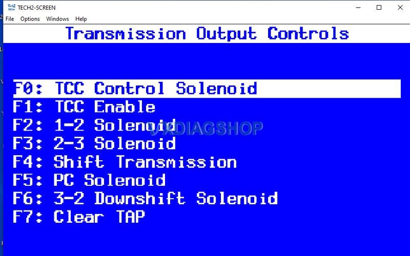 Transmission Controls
