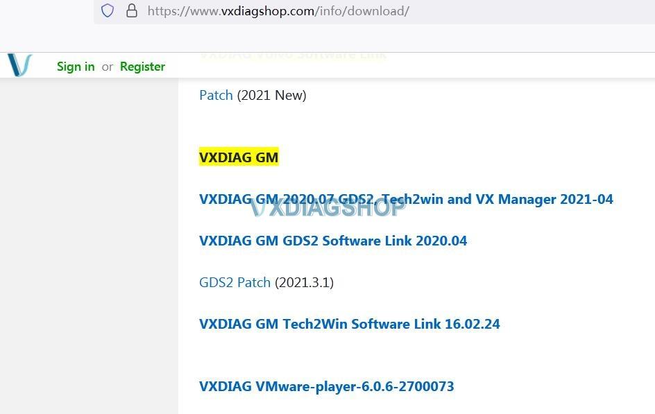 Vcx Nano Gm Installation