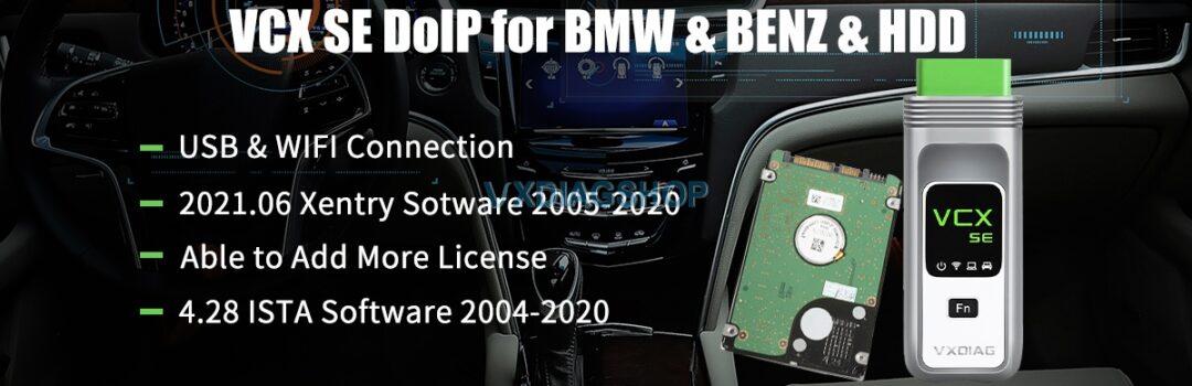 Vxdiag Benz Bmw Vcx Se