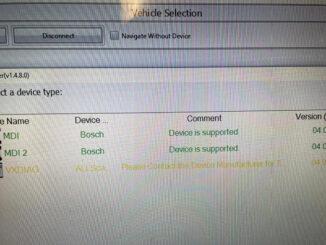 Vxdiag Device Selection 1