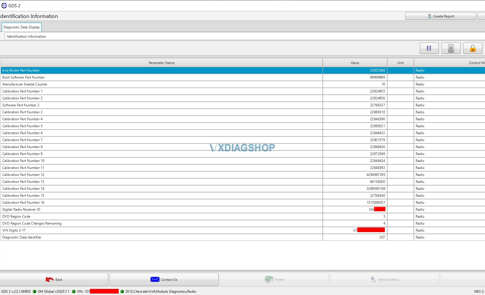 Vxdiag Gm Gds2 Volt Radio Programming Sps 1