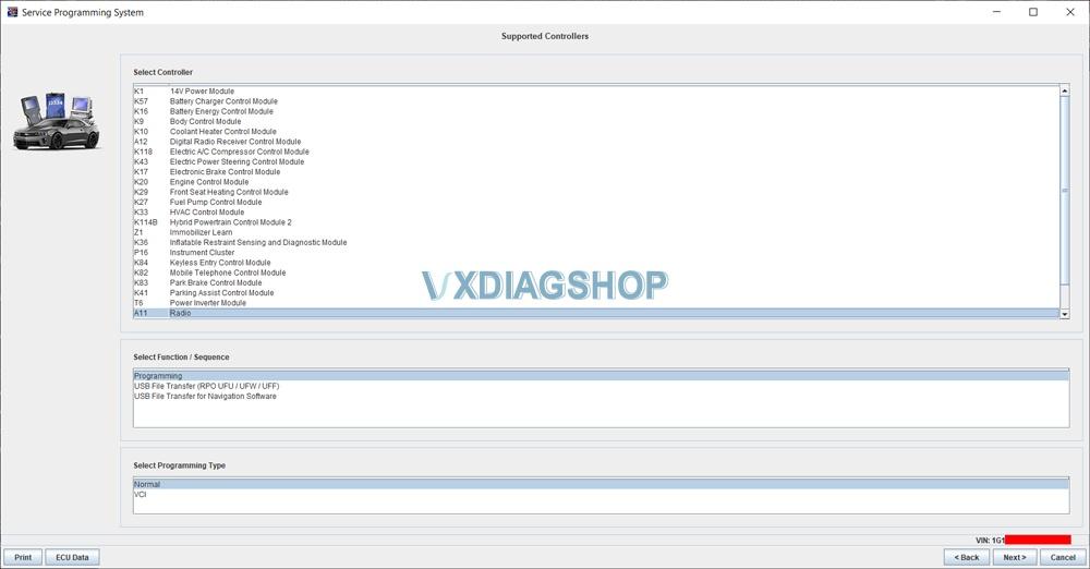 Vxdiag Gm Gds2 Volt Radio Programming Sps 3