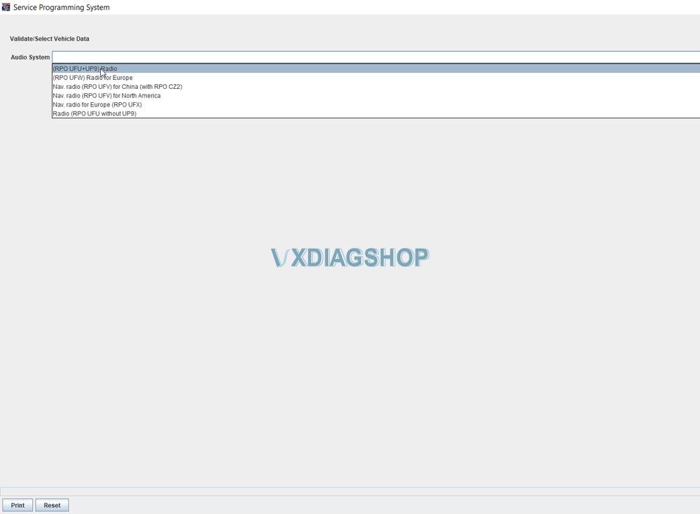 Vxdiag Gm Gds2 Volt Radio Programming Sps 4