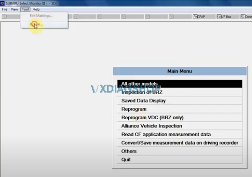 Change Vxdiag Subaru Ssm3 Language 1