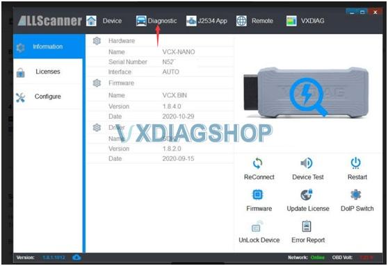Vxdiag No Device 3