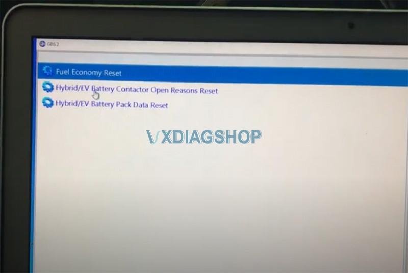 Vxdiag Vcx Nano Reset Lifetime MPG On Chevy Volt 6