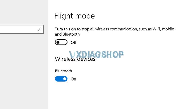 Vxdiag Benz C6 Cannot Connect Wifi 3