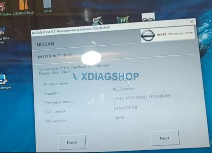 Vxdiag Vcx Nano Ford Passthru Test 6