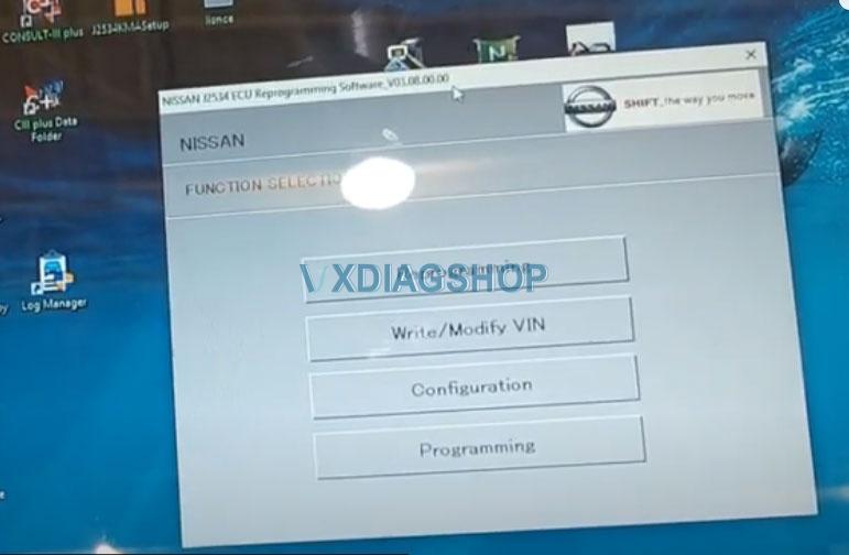 Vxdiag Vcx Nano Ford Passthru Test 7